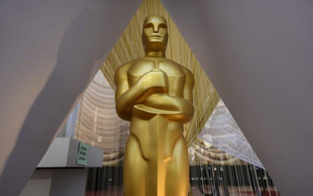 Los Premios Óscar se entregan hoy en Hollywood. Foto: AFP.
