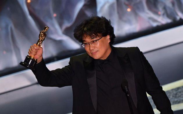 """El maestro Bong Joon-ho es el genio detrás de """"Parasite"""". Foto: AFP."""