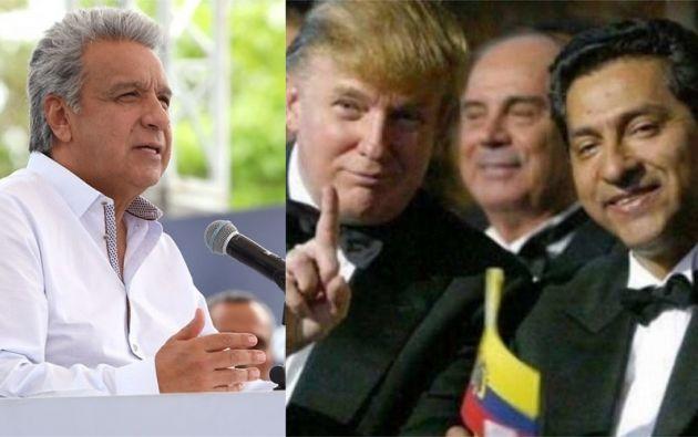 Gutiérrez fue el último presidente de Ecuador que pisó la sala Oval y lo hizo en tiempos de George W. Bush.