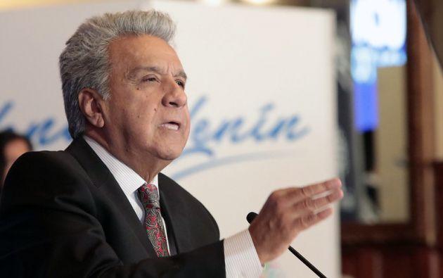 La visita de Moreno a Washington obedece a la invitación que le extendiera su colega Trump.