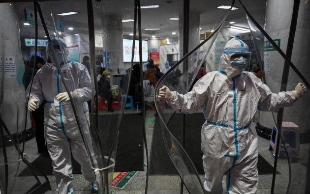El principal problema es la falta de material médico. Foto: AFP