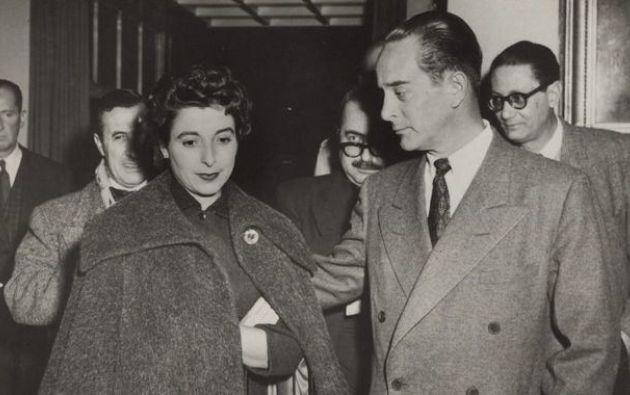Juan Jacobo Árbenz, derrocado en 1954. El presidente había decretado leyes laborales y exigido impuestos a la United Fruit Company.