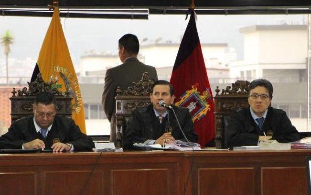 Los jueces Iván León, Iván Saquicela y Marco Rodríguez fueron recusados por Rafael Correa.