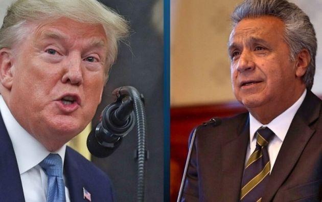 """Trump está muy interesado en el importante papel """"diplomático"""" que puede tener Ecuador."""