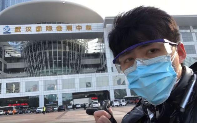 El reportero había realizado varios reportajes criticando el accionar del Gobierno chino respecto al brote de coronavirus.