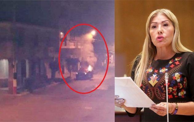 Liuba Cuesta Ríos fue víctima de un atentado en su contra, la madrugada de este jueves.