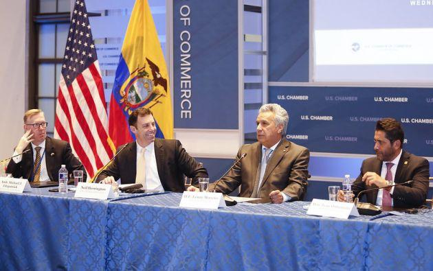 """""""Es la primera vez que oigo al FMI hablar profundamente de transformaciones sociales"""", dijo Moreno."""