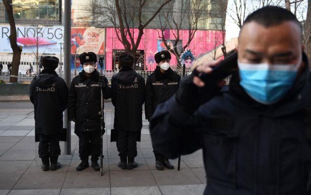 """Pekín tomó muy mal el título """"China es el verdadero hombre enfermo de Asia"""". Foto: AFP"""