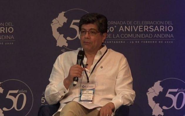 En el homenaje, que incluye seminarios, mesas redondas y una sesión solemne, participa el canciller de Ecuador, José Valencia.