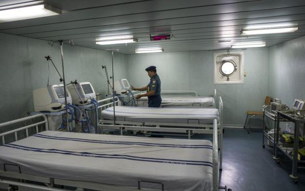 En China continental el balance de la epidemia ya supera los 2.100 fallecidos y 74.500 contagiados. Foto: AFP.