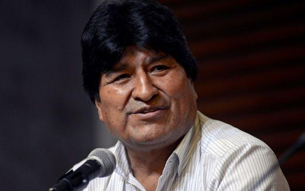 """""""Un golpe contra la democracia"""", lo calificó Morales desde Argentina. Foto: Reuters"""