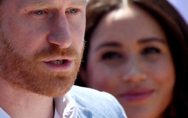"""El príncipe Enrique y su esposa Meghan dejarán de utilizar la denominación """"Sussex Royal"""".  Foto: Reuters"""