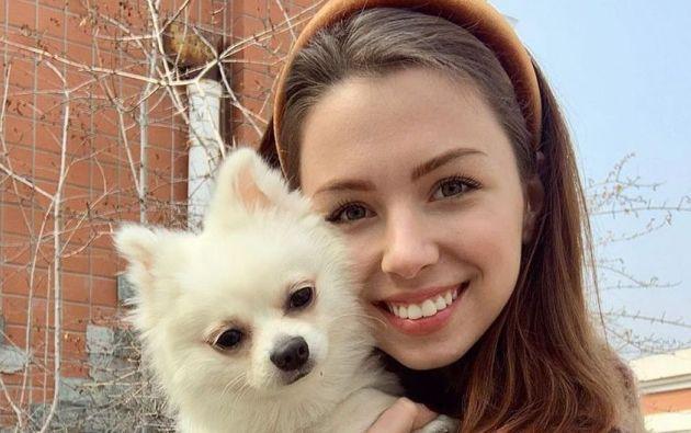 Anastasia Zintchenko no pudo reunirse con sus 45 compatriotas evacuados.