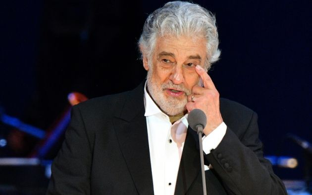 El tenor admitió que hizo insinuaciones sexuales y coqueteó dentro y fuera del trabajo. Foto: AFP.