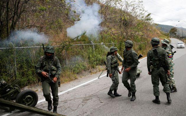 FFAA de Venezuela. Foto: Reuters.