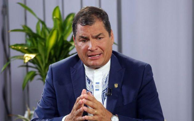 Según Correa, los archivos del caso 'sobornos 2012-2016' fueron alterados. Foto de archivo.