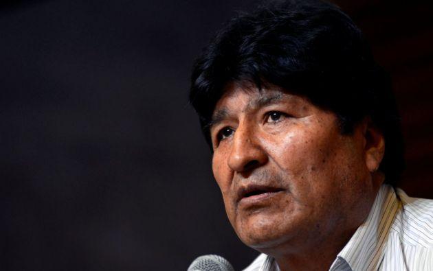 Expresidente de Bolivia Evo Morales. Foto: Reuters