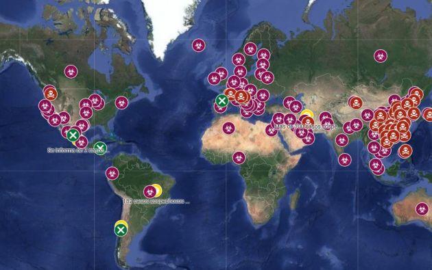 La epidemia de covid-19 ya causó casi 3.000 muertos y más de 85.000 contagios.
