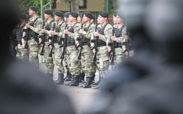 Regimiento Escolta Presidencial.