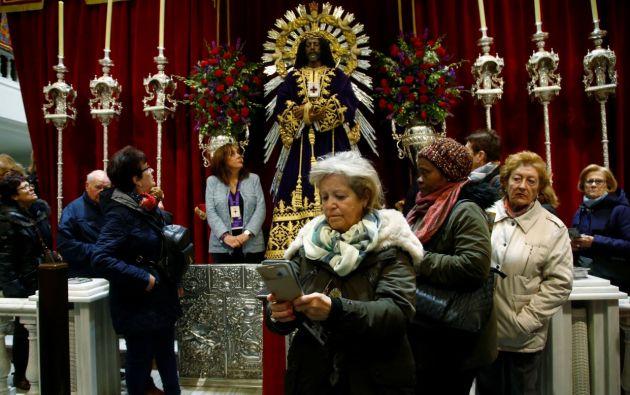 Iglesia católica en Madrid. Foto: Reuters.