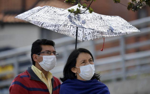 En Argentina se registró el primer fallecido por coronavirus de América Latina, región en la que hay 61 contagiados. Foto: AFP.