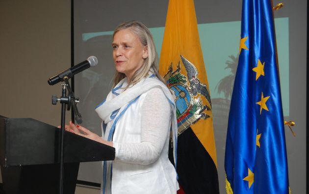 Marianne Van Steen, embajadora de la Unión Europea en Ecuador, será una de las expositoras.
