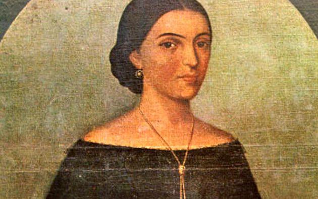 Manuela Sáenz es la ecuatoriana más buscada en Wikipedia.