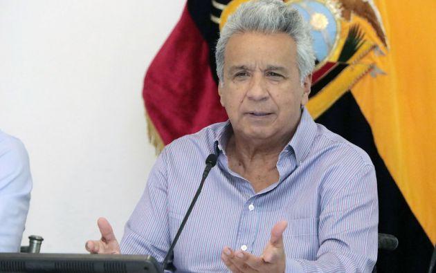 Moreno declaró este miércoles el estado de emergencia sanitaria.