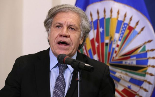 El uruguayo Luis Almagro, ganó este viernes las elecciones.