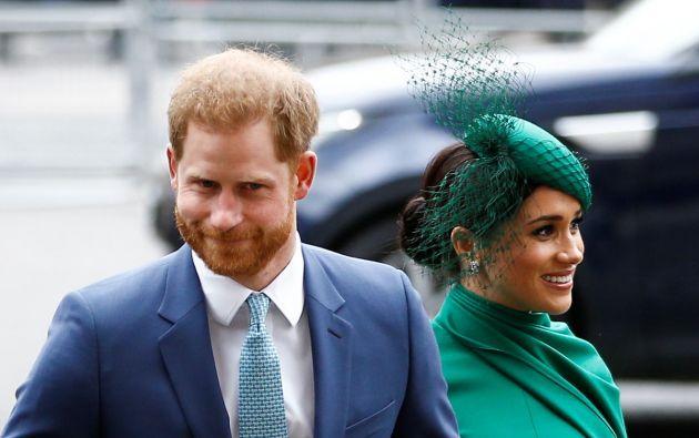 El príncipe británico Harry y Meghan. Foto: Reuters.