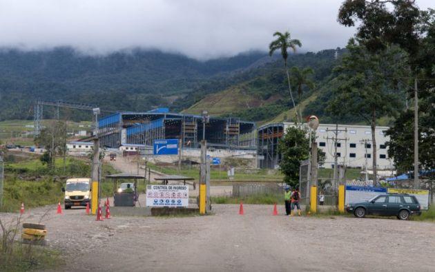 Campamento del Proyecto Mirador. Foto: Segundo Espín.