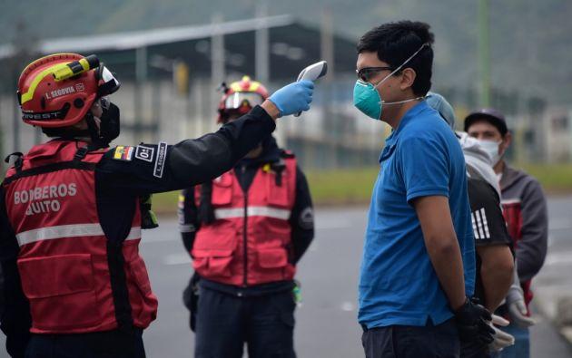 La provincia de Guayas, con 1.937 casos, sigue siendo la más afectada por los contagios. Foto: AFP