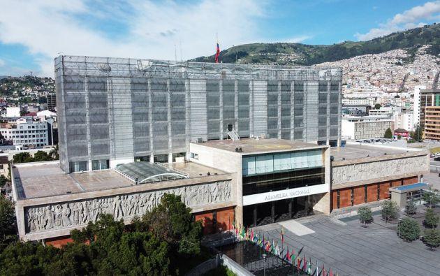 El plan de ahorro de la Asamblea Nacional, con sede en Quito, representa menos del 1% de su presupuesto anual.