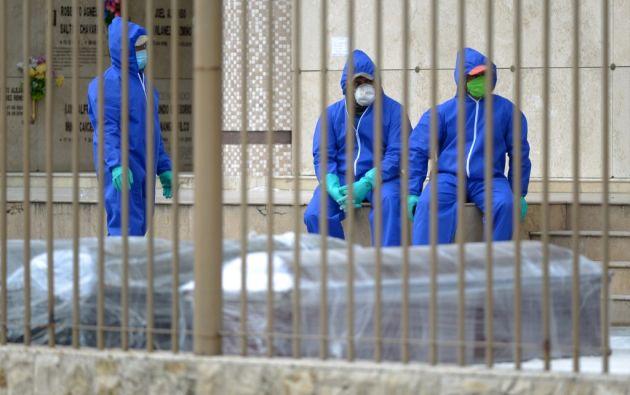 Los gremios profesionales advierten de que se requieren de medidas de seguridad especiales. Foto: AFP