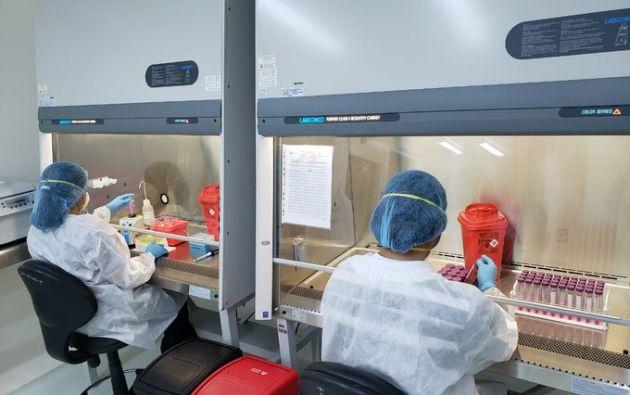 Al 4 de abril, en Ecuador hay 3.465 casos de coronavirus, 100 personas con alta hospitalaria, 3.369 descartados y 172 muertos. Foto: Ministerio de Salud.