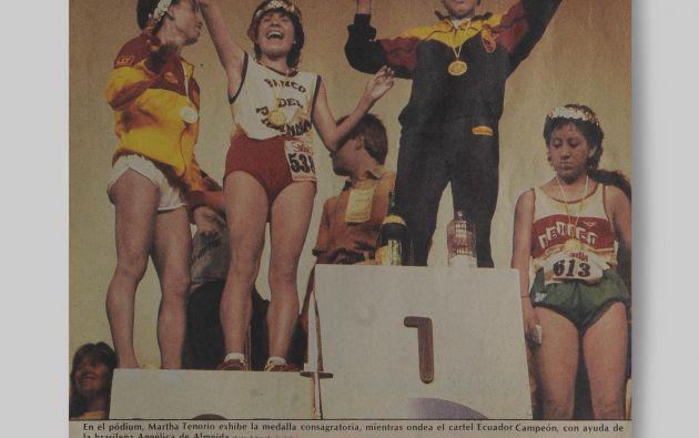 En la edición de 1997 ocurrió inédito, tanto en varones como en damas ganaron dos atletas de la misma nacionalidad, estos fueron los ecuatorianos Rolando Vera y Martha Tenorio.