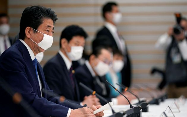 Primer Ministro de Japón, Shinzo Abe. Foto: Reuters.