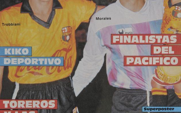 Portada de la revista Estadio de 1990, previo a la primera final de Barcelona en la Copa Libertadores.