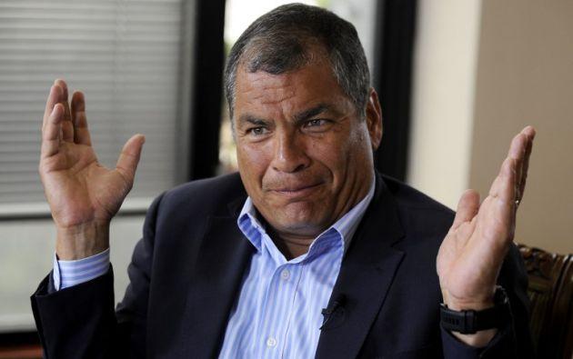 Rafael Correa fue condenado a ocho años de cárcel y 25 años de inhabilitación política.