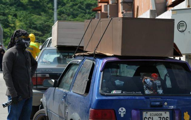 En Guayas, el número de contagiados reportados ascendió a 2.388. Foto: AFP