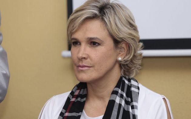 Cynthia Viteri se quejó de la gestión del Gobierno presidido por Lenín Moreno.