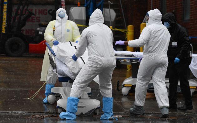 El coronavirus se ha cobrado la vida de al menos 18.860 personas en Estados Unidos. Foto: AFP