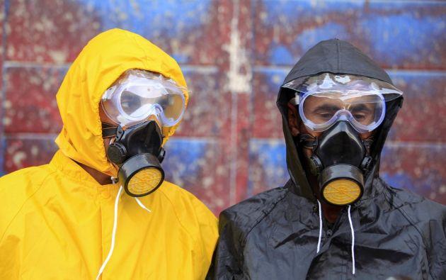 La tercera condición es que haya mascarillas suficientes para protegerse. Foto: AFP
