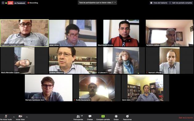 La Asamblea Nacional se reúne por videoconferencia para tratar la agenda correspondiente. Sin embargo, una veintena de ellos suele ausentarse, a pesar de sesionar desde casa.