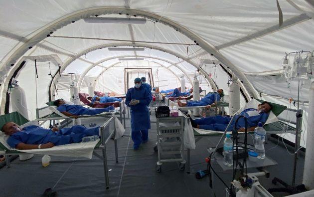 """""""El objetivo es priorizar aquellos sectores que tiene mayor incidencia del virus"""", añadió el ministro. Foto: AFP"""