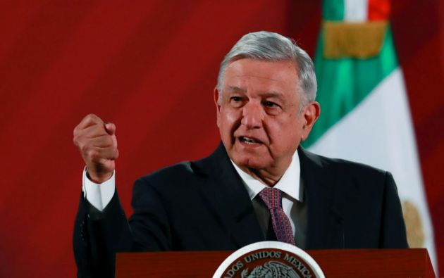 Presidente de México,  Andres Manuel López Obrador. Foto: Reuters.