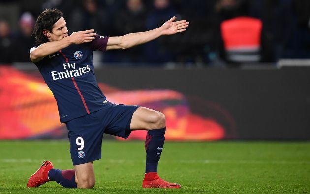 El delantero uruguayo Edinson Cavani es el goleador histórico del Paris Saint Germain (PSG).