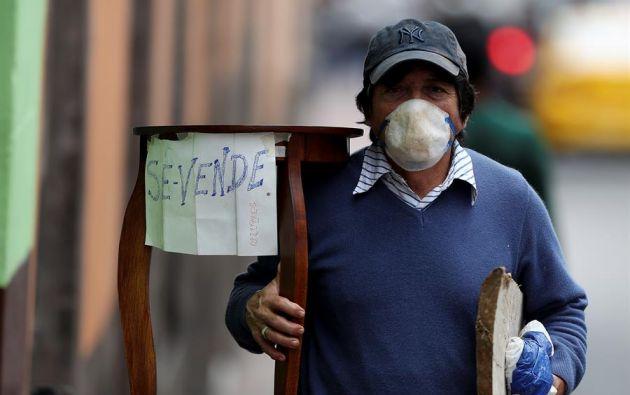 """""""Para gran parte del mundo, la pesadilla aún no ha comenzado"""" Foto: EFE"""