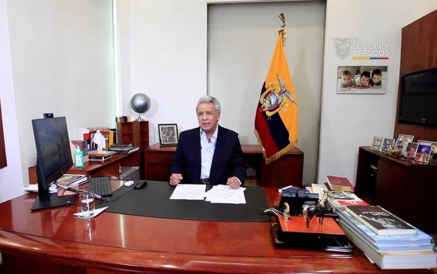 El presidente de la República, Lenín Moreno, respondió las críticas y explicó los motivos de su ausencia territorial. Sin embargo, fue claro en asegurar que él toma las decisiones finales amparadas en los informes de los ministros.