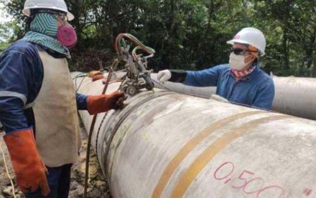 La capacidad de transporte de OCP está en 15.000 barriles diarios de petróleo. Foto: OCP